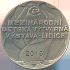 Медаль Лидице 2016